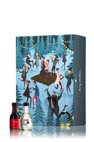 GEILE WEINE Wein Adventskalender (24 x 0,1) Rotwein, Weißwein und Rose zum Probieren in der Adventszeit
