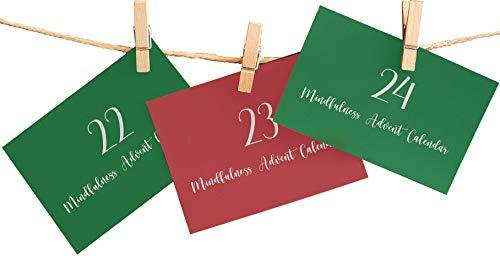 Achtsamkeit Adventskalender – 24 Achtsamkeitsaufgaben, damit Sie Weihnachten noch mehr genießen und schätzen können!