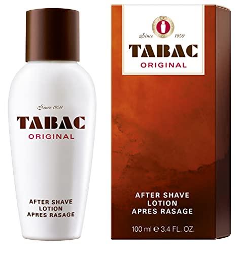 Tabac® Original   After Shave Lotion erfrischende Rasierwasser - erfrischt die von der Rasur beanspruchte Männerhaut - Original Seit 1960   100ml Splash