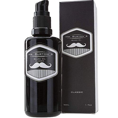 Bartöl - Mr. Burton´s Beard Oil - CLASSIC - unverwechselbarer Duft - PRODUKTSIEGER 2020 - Made in Germany -...