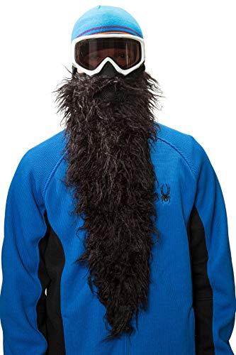 Beardski - Skimaske mit Bart (Black Pearl)