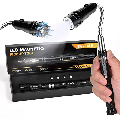 KEZKALS Geschenke für Männer, Teleskopmagnet Werkzeug mit LED, Adventskalender Männer Füllung 2021, Männer, Gadgets für Männer, Geburtstagsgeschenk für Männer, Vatertagsgeschenk