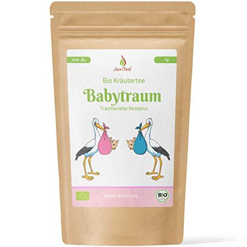 JoviTea® Babytraum Tee BIO – Traditionelle Rezeptur - spezielle Kräutermischung – aus kontrolliert...