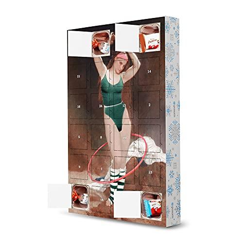 artboxONE Adventskalender mit Produkten von Kinder® Aerobic Girl Adventskalender Menschen