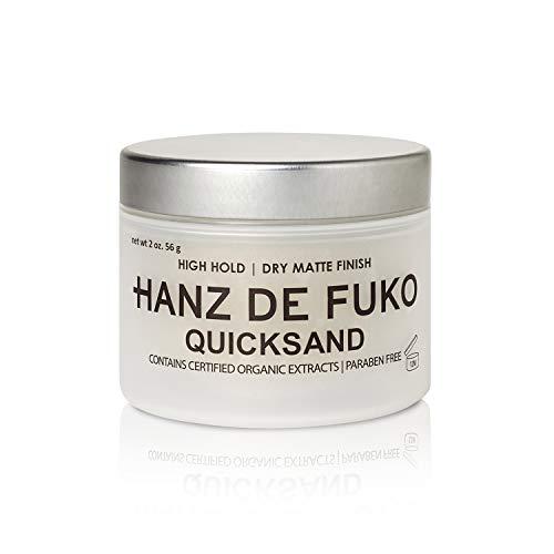 Hanz de Fuko Premium Hair Styling Quicksand: Hochleistungs Haarstyling Wachs und Trockenshampoo Combo mit...