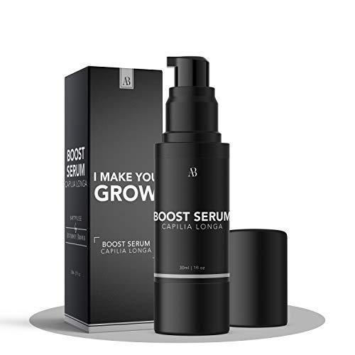 Anthony Brown® Bartwuchsmittel Männer - belegte Wirkung durch Capilia Longa für mehr Bartwuchs - Bart...