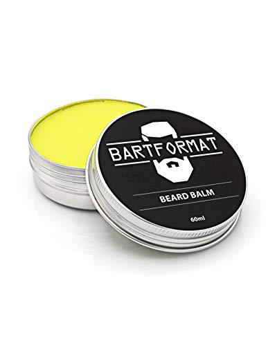 BARTFORMAT® Bart-Balsam Herren mit Sheabutter, Aprikosen-, Jojoba- und Arganöl für geschmeidige Barthaare -...