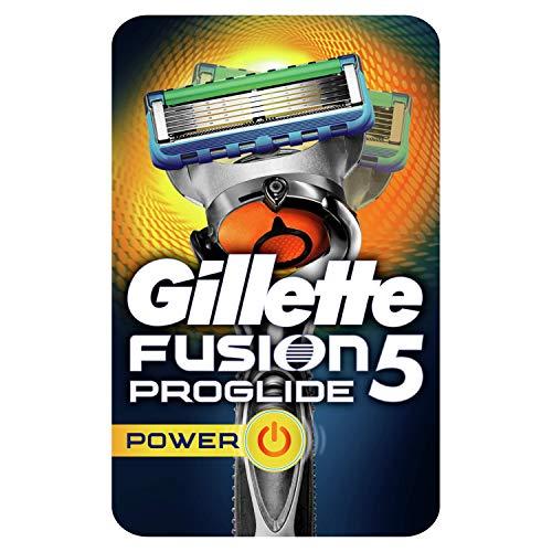Gillette Fusion 5 ProGlide Power Rasierer Herren mit Trimmerklinge für Präzision und Gleitbeschichtung,...