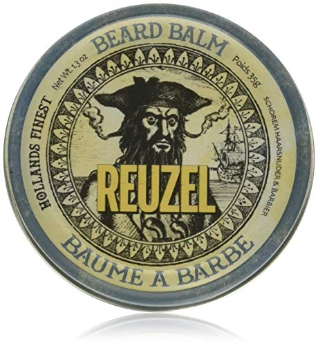 Reuzel - Beard Balm - Leichter Halt - Niedriger Glanz - Feuchtigkeitsspendend - Weniger Juckreiz und...