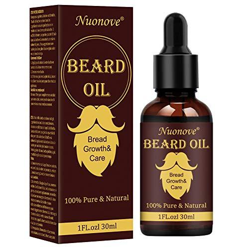 Bartöl, Beard Oil, Bartwuchsöl, Bartwuchsmittel, Öl Bart, Intensive Bartpflege, Bartpflege Herren für...