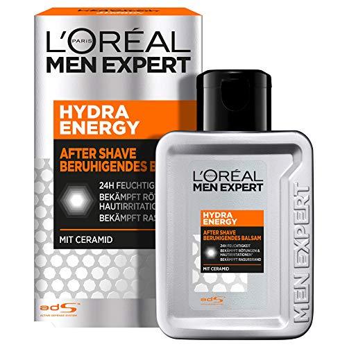 L'Oréal Paris Men Expert After Shave Balsam und Gesichtspflege für Männer, Gegen Rasurbrand, Rötungen und...