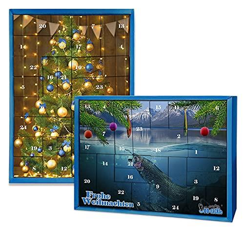 XXL Allround Adventskalender Weihnachtskalender Angelkalender Anglerkalender Dam Savage Gear Effzett Prologic