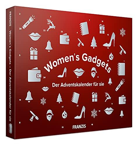 Franzis 67255-1 Women's Gadget-Der Adventskalender für Sie, 24 Überraschungen, die Frauenherzen höher Schlagen Lassen, bunt
