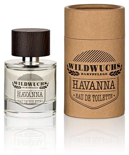 Eau de Toilette Herren Männer Parfüm HAVANNA von Wildwuchs Bartpflege, Spray 1er Pack (1 x 50 ml)