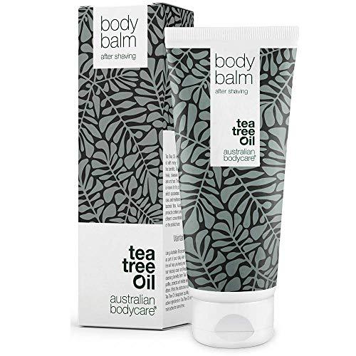 Australian Bodycare Body Balm 200ml   Aftershave Balsam gegen Eingewachsene Haare, Rasurbrand & rote Pickel...