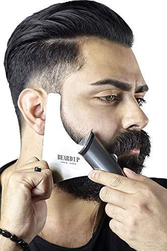 Edelstahl Bart Schablone I Ergebnisse wie vom Barbier I Bartschablonen Bartvorlage Styling I Bartpflege Made...