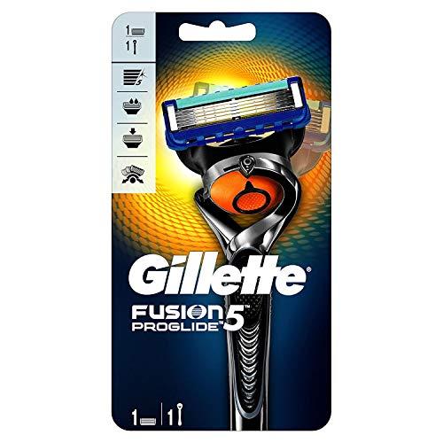 Gillette Fusion 5 ProGlide Rasierer Herren mit Trimmerklinge für Präzision und Gleitbeschichtung, Rasierer +...