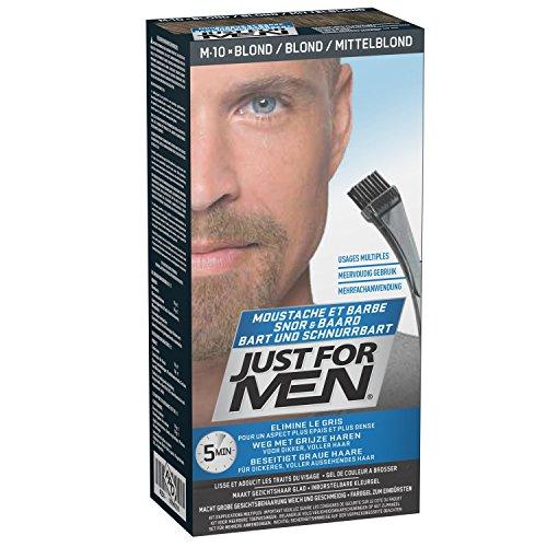 Just For Men Pflege-Brush-In-Color-Gel für Bart, Schnurrbart, Aschblond