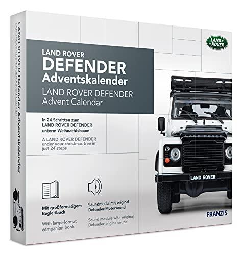 FRANZIS 67155 - Land Rover Defender Adventskalender 2020 – in 24 Schritten zum Land Rover Defender unterm...