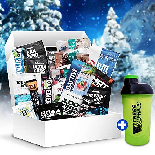 Fitnesskaufhaus Do It Yourself Samples Fitness Adventskalender 2021, 24 TLG Protein Shaker