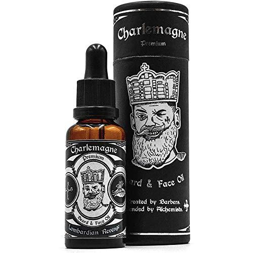 Charlemagne Bartöl - TESTSIEGER - 100% Vegan Bartöl Limette Minze Duft - Bart Öl Made in Germany Bartöl...