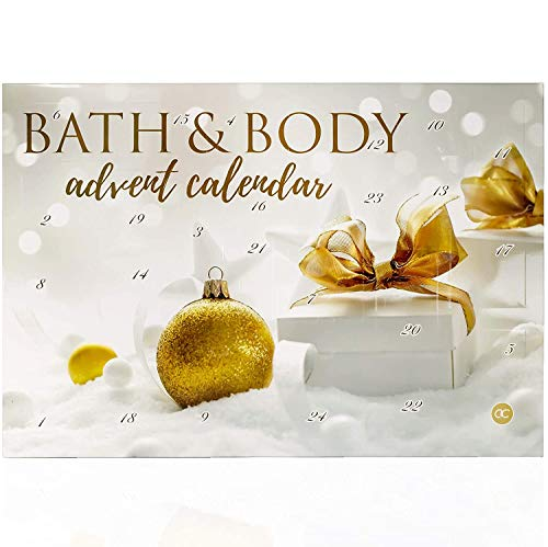 Adventskalender Kosmetik für Sie - Damen Wellness Weihnachtskalender mit 24 Überraschungen für Frauen Bath & Body