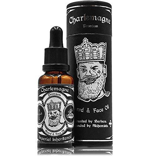 Charlemagne Bartöl - TESTSIEGER - 100% Vegan Bartöl Vanille Tabak Duft - Bart Öl Made in Germany Bartöl...