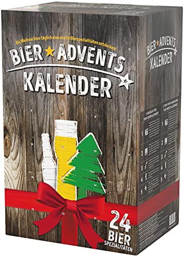 Kalea Bier Adventskalender zum Selberfüllen, passend für 0,3l und 0,5l Flaschen