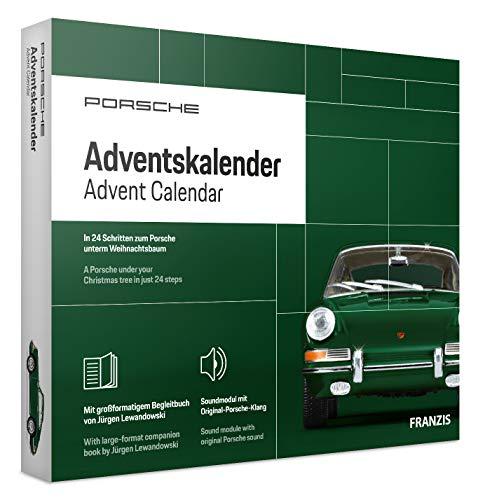 FRANZIS 67119 - Porsche 911 Adventskalender 2020 – in 24 Schritten zum grünen Porsche 911 unterm...
