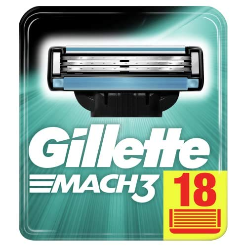 Gillette Mach3 Rasierklingen, 18 Rasierklingen