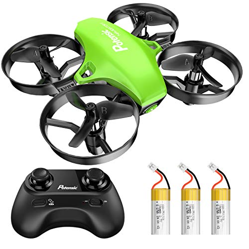Potensic Mini Drohne für Kinder und Anfänger mit 3 Akkus, RC Quadrocopter, Mini Drone mit Höhenhaltemodus,...