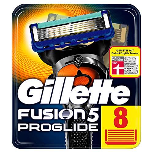 Gillette Fusion 5 ProGlide Rasierklingen mit Trimmerklinge für Präzision und Gleitbeschichtung, 8...