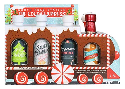 Modern Gourmet Foods - Kakao Zug Geschenkset - 4 verschiedene Geschmacksrichtungen