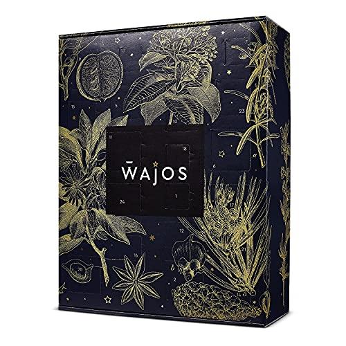 Feinkost & Gewürz Adventskalender 2021 von WAJOS | Weihnachtskalender mit 24 Türchen voller Gewürzmischungen, Saucen, Senf & Feinkost Überraschungen | Geschenk für Männer & Frauen