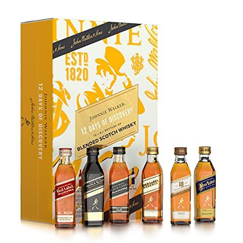 Johnnie Walker Adventskalender für Männer - 12x5cl Blended Scotch Whisky