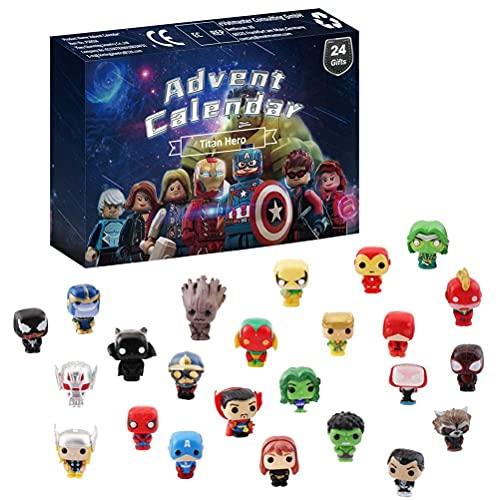 spier 24 Teile / Set Weihnachten adventskalender kristall Clay Spielzeug für Kinder und Teenager