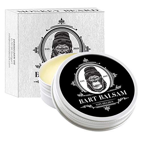 MONKEYBEARD® Bartwachs (60g) | Bartbalsam für Männer | Bart wachs für die tägliche Bartpflege | Bart...