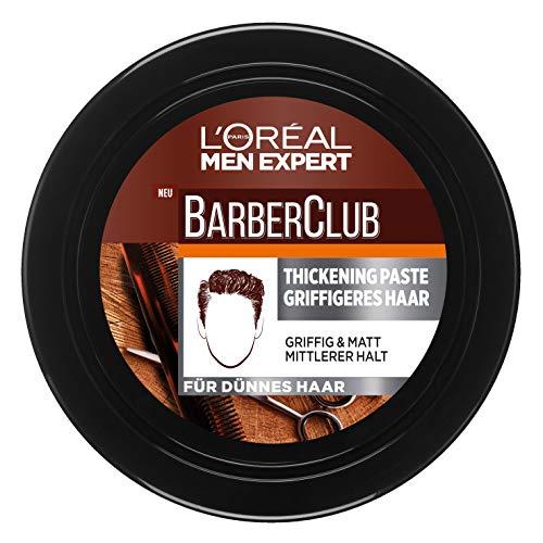 L'Oréal Paris Men Expert Barber Club Thickening Paste Griffigeres Haar, 75 ml