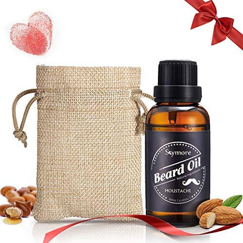 Skymore Valentinstag Geschenk Bartöl mit Ätherische Öl Squalane und Vitamina E, Beard Oil, Intensiver...