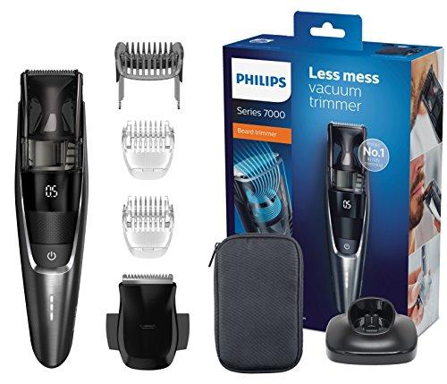 Philips BT7520/15 Bartschneider Series 7000 mit intergriertem Vakuum-System und 20 Längeneinstellungen