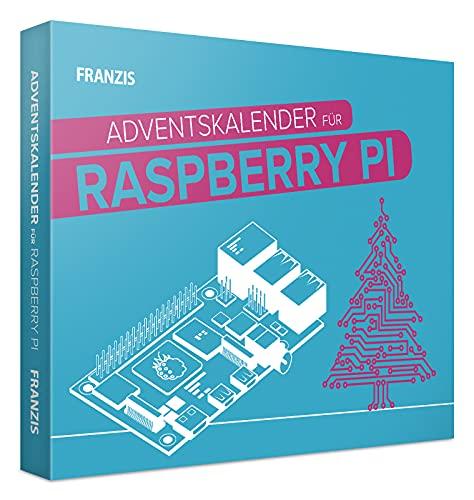 FRANZIS 55103 - Raspberry Pi Adventskalender 2021, in 24 Tagen eine Weihnachtskrippe bauen und programmieren, für Kinder ab 14 Jahren