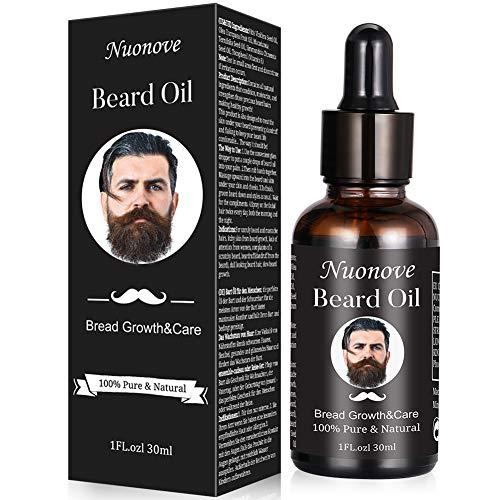 Bartöl, Beard Oil, Bartwuchsöl, Bartwuchsmittel für einen kräftigen und vollen Bart, für die Pflege und...