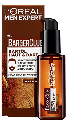 L'Oréal Men Expert Barber Club Bartöl, die Bartpflege mit Zedernholzöl sorgt für eine gepflegte Bartpracht...