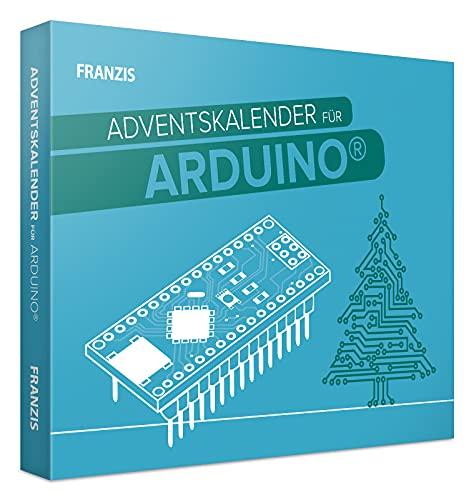 FRANZIS 55110 - Arduino Adventskalender 2021, in 24 Tagen zum smarten Lebkuchenhaus, für Kinder ab 14 Jahren
