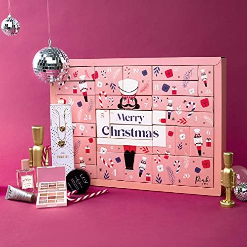 Pink Box Adventskalender 2021 | Der hippe Beauty Adventskalender für Frauen & Trendsetterinnen im Wert von über 200€