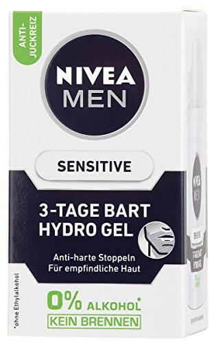 Nivea Men Sensitive 3-Tage Bart Gel, 1er Pack, 1 x 50 ml