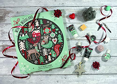 Chit Chat Toilettenartikel Adventskalender Winter Badezeit Weihnachten Countdown Home Spa Geschenkset