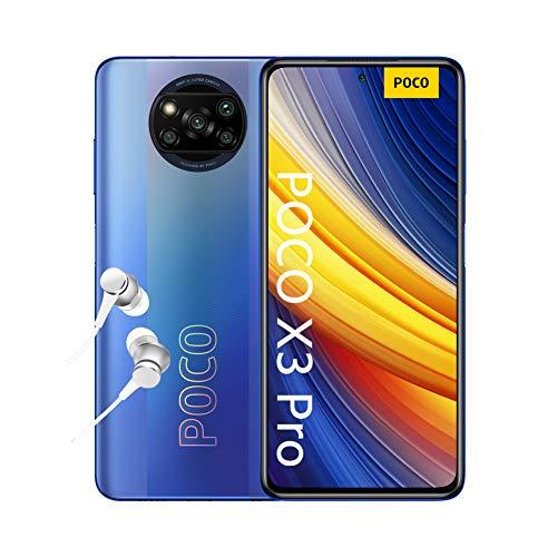 POCO X3 PRO Smartphone (16,94cm (6,67') FHD+ LCD DotDisplay 120Hz, 8GB+256GB Speicher, 48MP Quad-Rückkamera,...