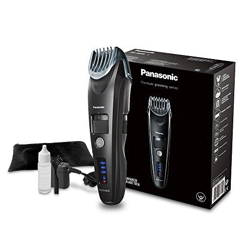 Panasonic Premium Bartschneider ER-SB40 mit 19 Längeneinstellungen, Barttrimmer 0,5-10 mm, Trimmer für...