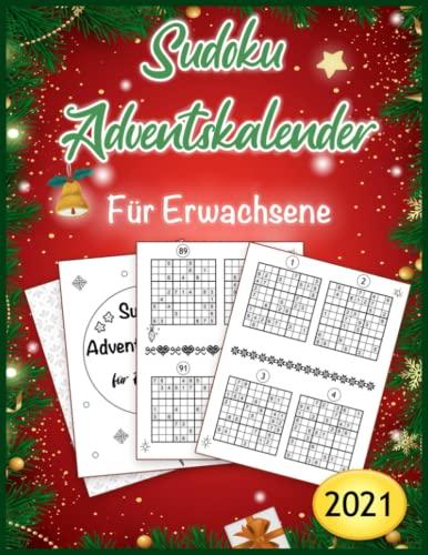 Sudoku Adventskalender für Erwachsene: XXL Weihnachtskalender in 3 Schwierigkeitsstufen - Sudoku Rätselheft für erwachsene - Beliebtes ... zur Weihnachtszeit (Jeden Tag neue Rätsel)